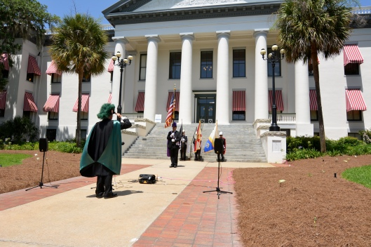 Tallahassee Knights of Columbus Old Historical Florida Capital Flag Day 2015